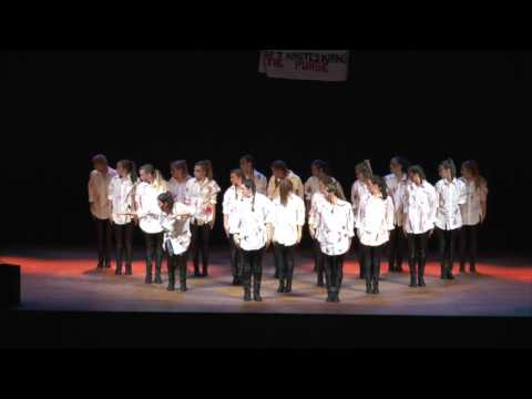 Kappa Delta, Eta Mu, Step Team 2017 Performance