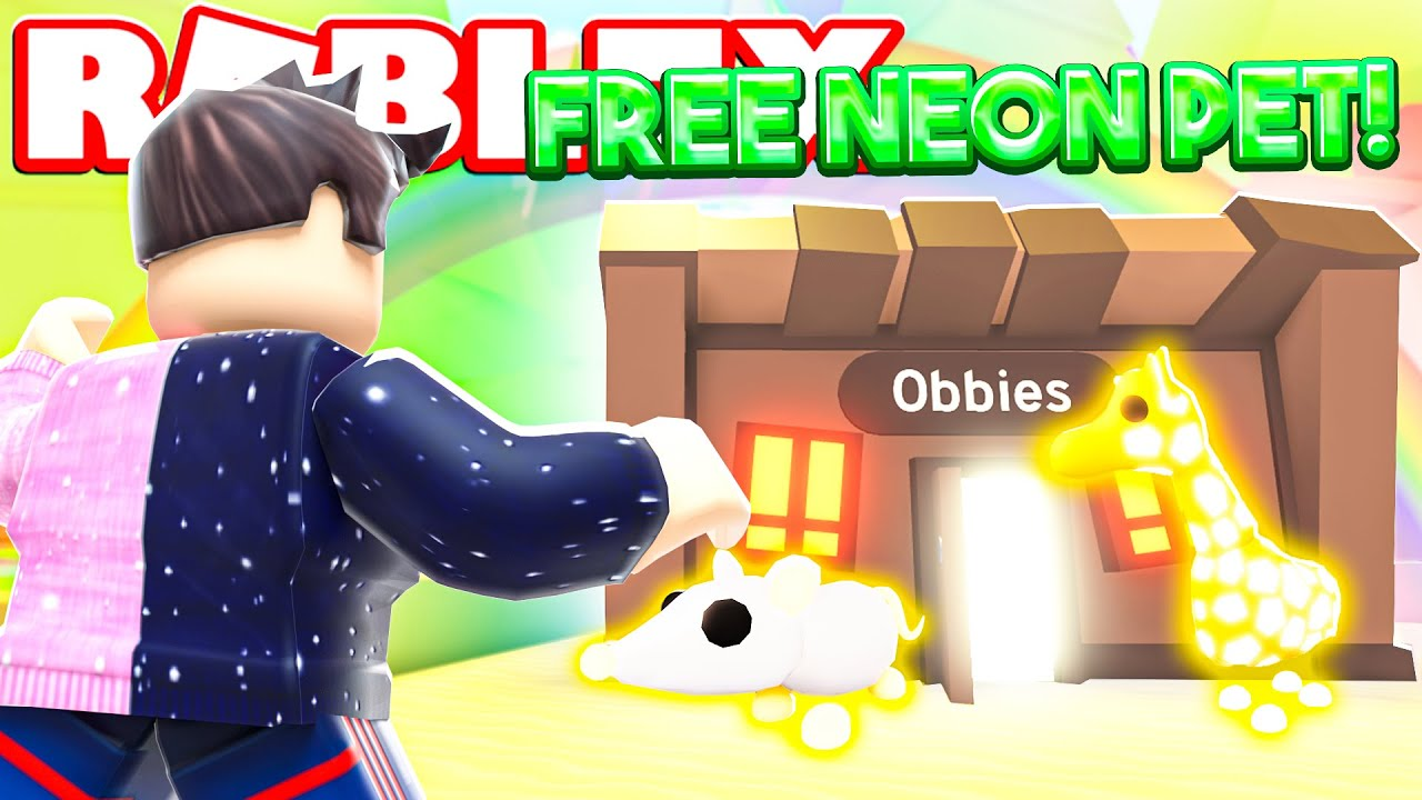 This Secret Gives You Free Neon Pets In Adopt Me Each Time New Adopt Me Lunar Update Roblox Youtube