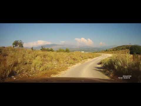 Road to Lekuresi Castle