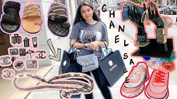 CHANEL SALES VLOG 2020 | *too many eye candies and a little bit of a new collection!* | BonjourAika