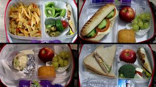 Kid-Friendly Lunch Ideas - 5 Lunch box meals