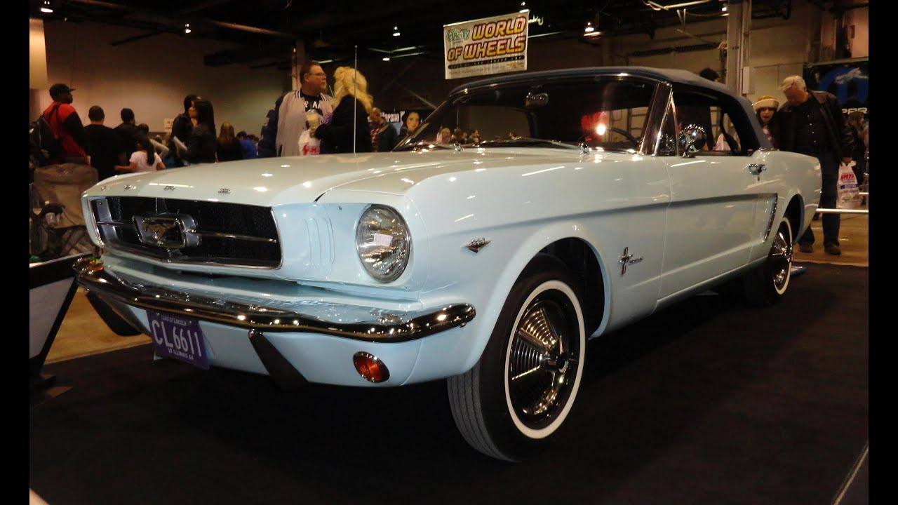 1964 ½ ford mustang the first 1st mustang sold in the us on my car story with lou costabile