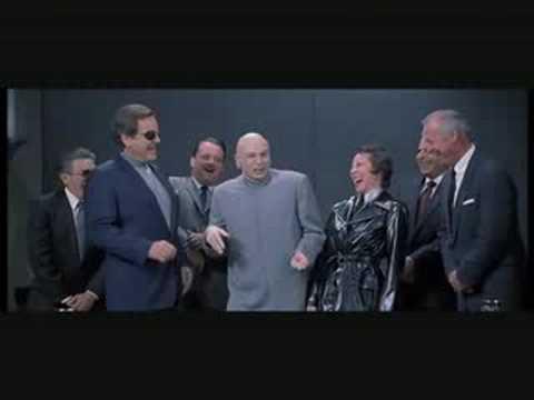 Dr Evil's Laughing Scene