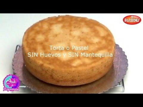 Torta o pastel sin huevos y sin mantequilla receta f cil for Como decorar una torta facil y rapido