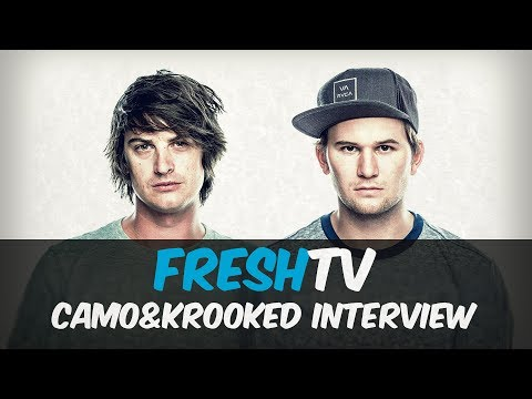Camo & Krooked Interview @ Nu Forms Festival 2017