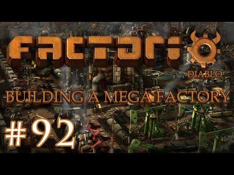 Factorio - Building a Mega Factory: Part 92 A new copper smelting area.