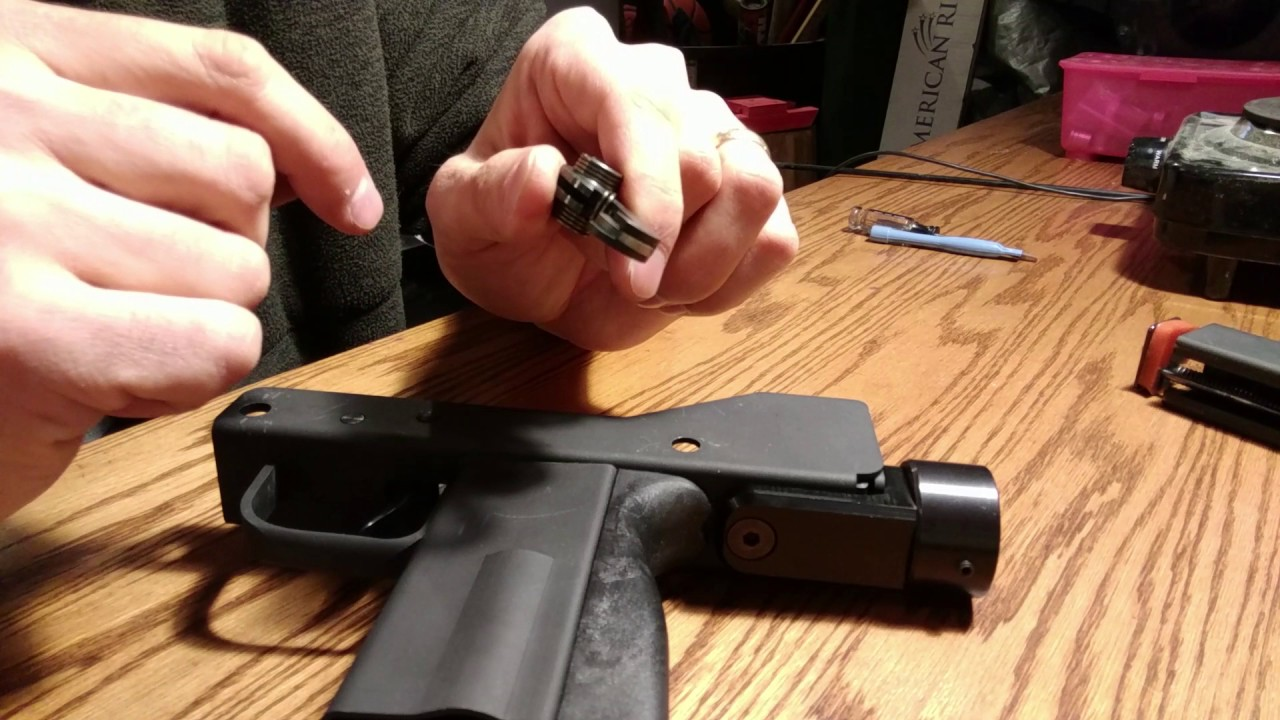 Disassembly (Hammer Replacement) of Masterpiece Arms MPA Defender Mini9  Mini-9