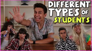 Different types of students [ft. brittanilouisetaylor!]