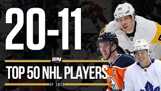Top 50 NHL Players of 2019 | 20-11
