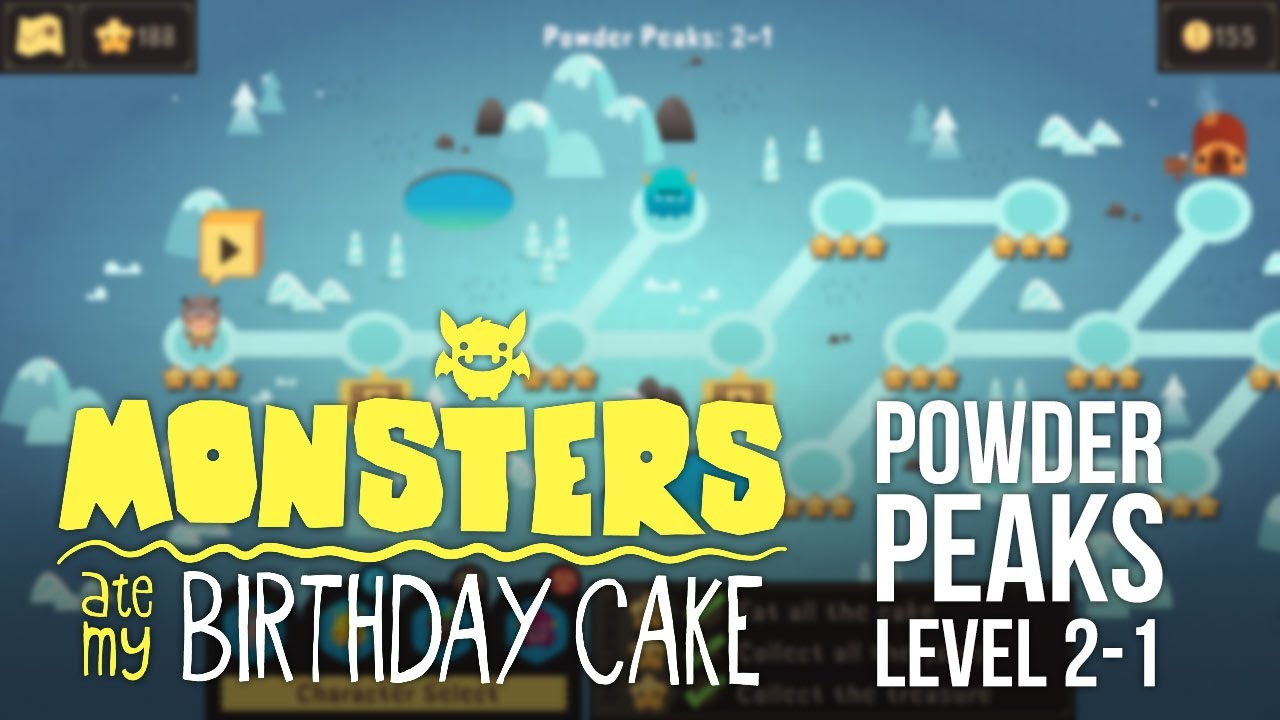 Monsters Ate My Birthday Cake Ios Level 2 1 3 Star Walkthrough