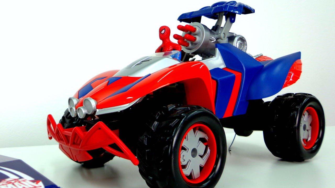 Видео человек-паук игрушки