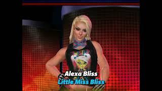 WWE Champions: Alexa Bliss VS Ronda Rousey