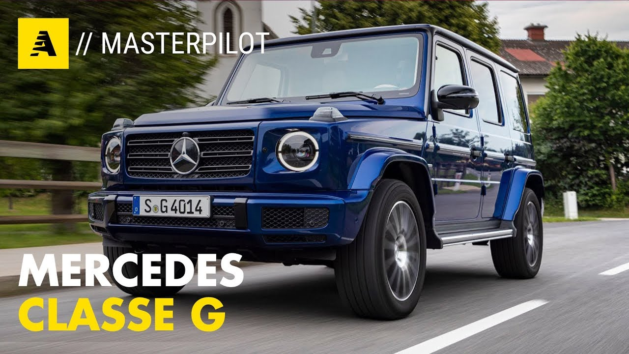 Mercedes Classe G >> Mercedes Classe G 400d Stronger Than Time