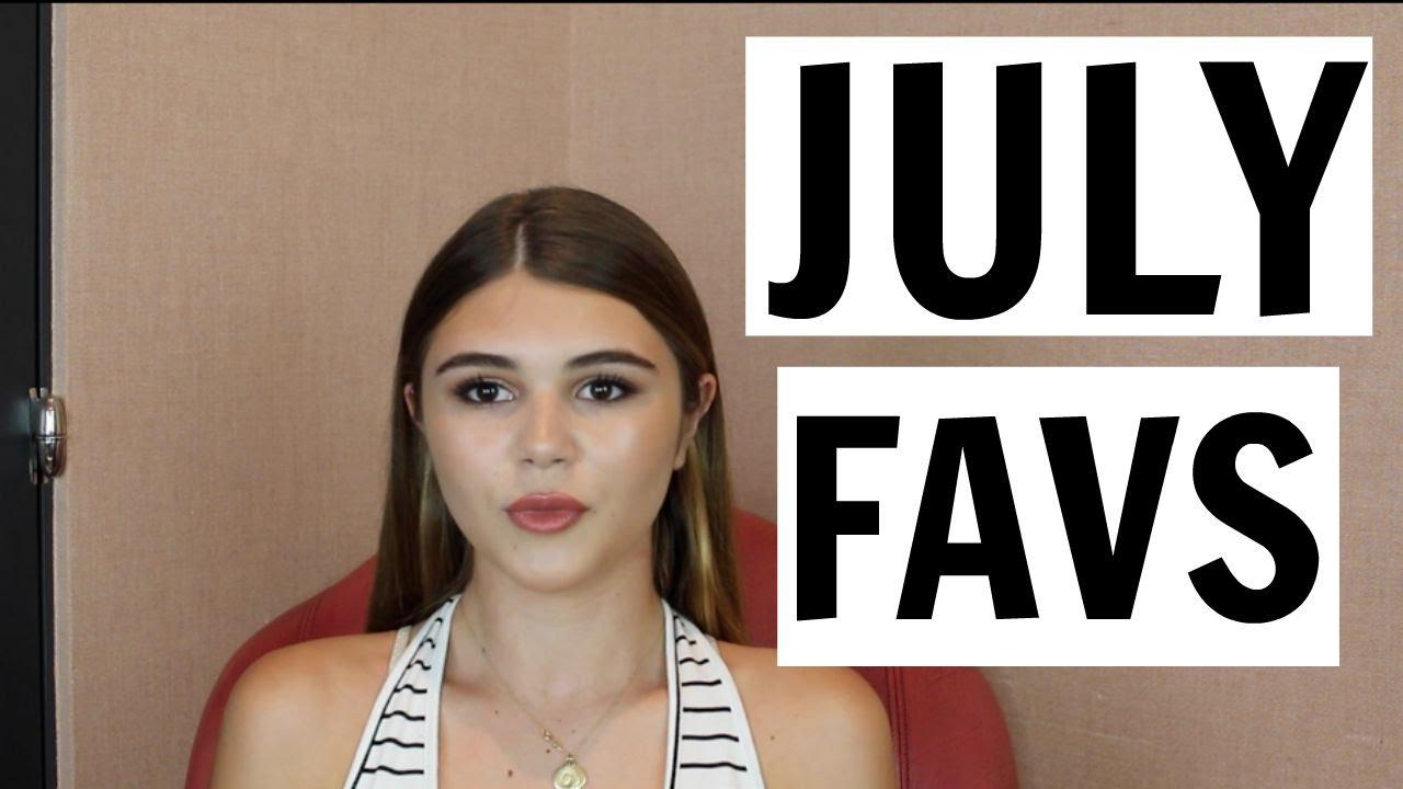 July Favorites Youtube