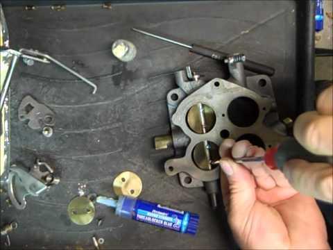 Rochester 4GC Carburetor Rebuild Part 1 of 4