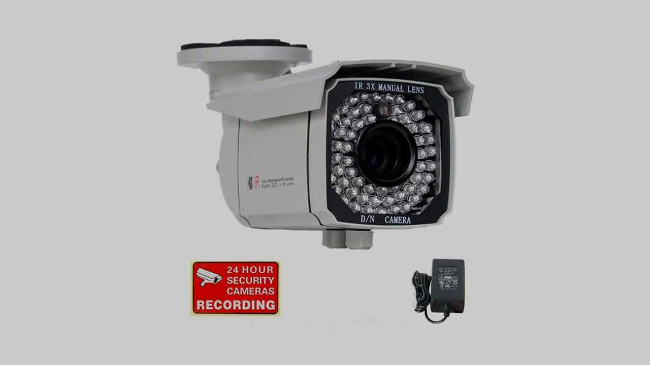 VideoSecu Outdoor 700TVL IR Security Camera 1/3\