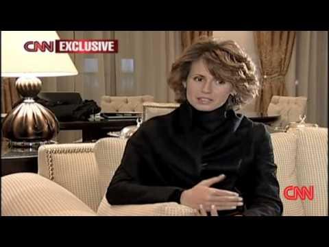 First Lady of Syria on Gaza