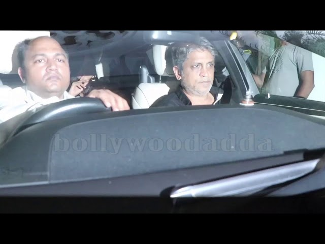 MANY CELEBS ATTEND KARAN JOHAR'S HOUSE PARTY