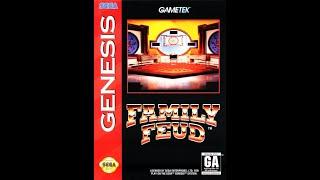 Sega Genesis Family Feud 6th Run Game #1