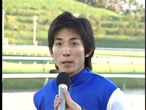 幸英明騎手、勝利騎手インタビュー(2008.10.13) - YouTube
