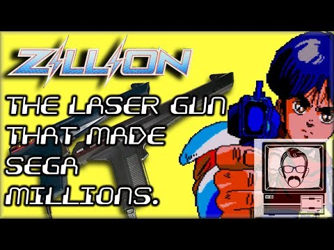 ZILLION: The Light Gun That Made Sega Millions | Nostalgia Nerd thumbnail