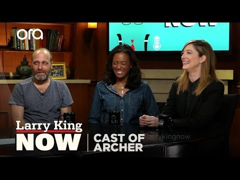 Archer's H. Jon Benjamin, Aisha Tyler & Judy Greer