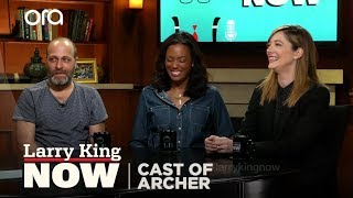 "Archer's H. Jon Benjamin, Aisha Tyler & Judy Greer ""Larry King Now"" -Full Episode For U.S.on OraTV"