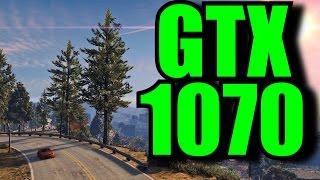 GTA V GTX 1070 OC | 1080p Maxed Out | FRAME-RATE TEST