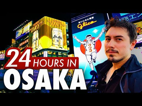 24 Hours in Osaka | 6 Things to do in Japan's Nightlife Capital