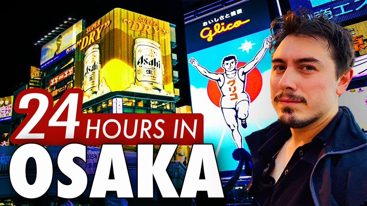 Download 24 Hours in Osaka   6 Things to do in Japan's Nightlife Capital