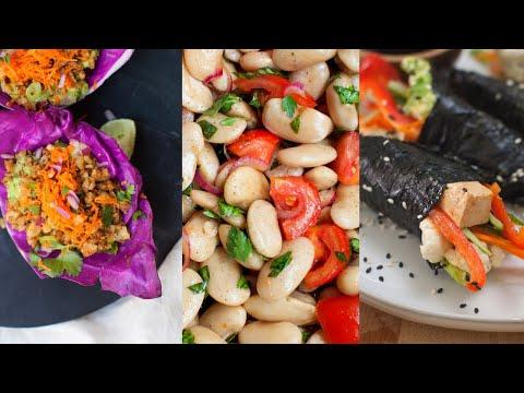 No-Cook Vegan Meals (& Equipment-Free)
