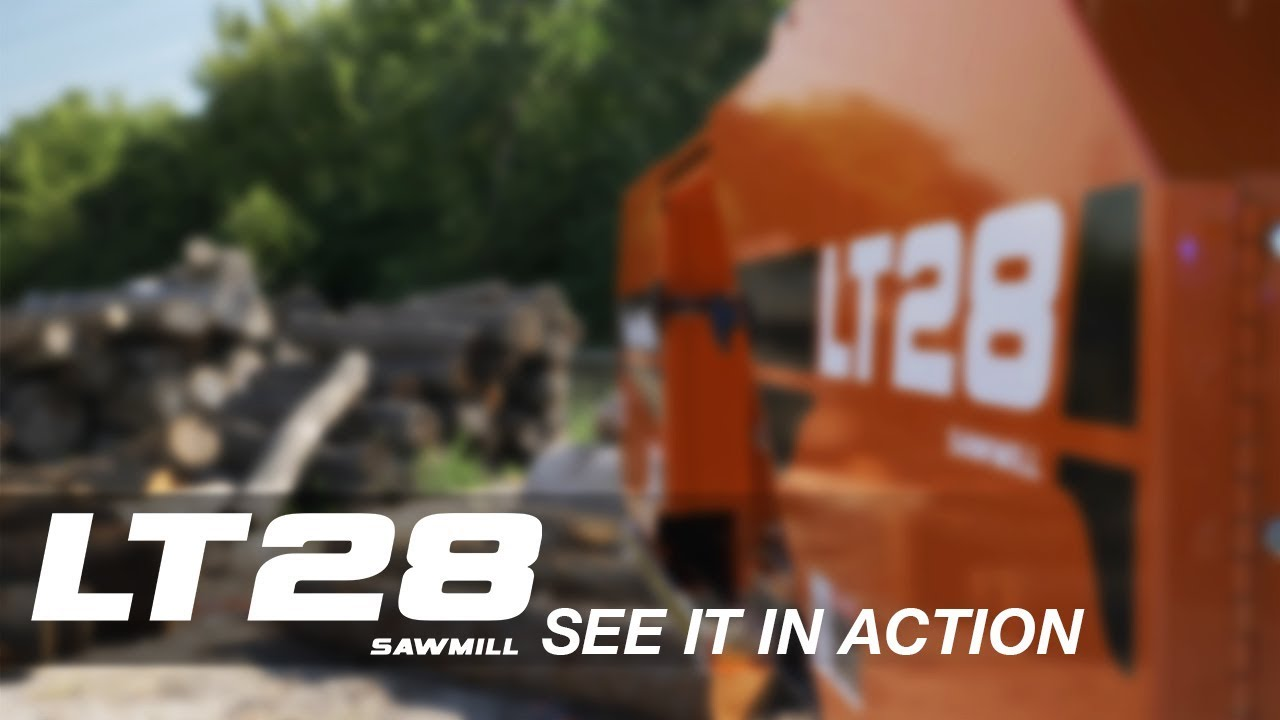 LT28 Portable Sawmill in Action | Wood-Mizer