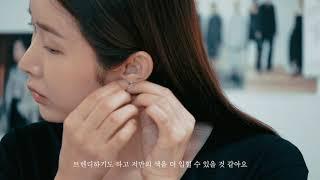 [여자 실버 귀걸이, …