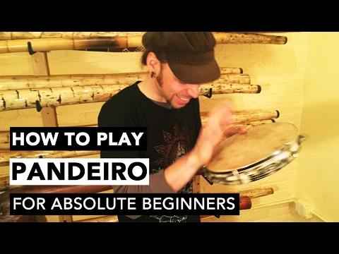 Pandeiro (Samba Style) For Absolute Beginners with Poranguí