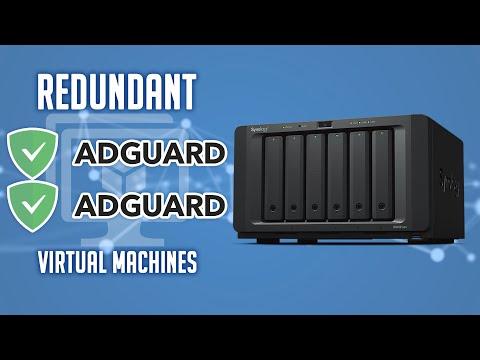 Setup AdGuard with Redundancy on Synology Using VMs