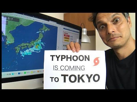Preparing for a Typhoon in Tokyo (Today!)