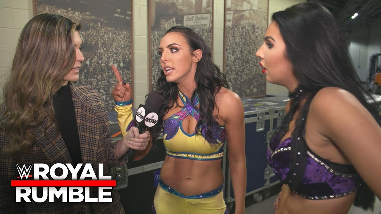 The IIconics unleash a backstage verbal tirade at Royal Rumble: WWE Exclusive, Jan. 27, 2019