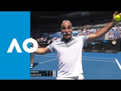Mansour Bahrami's magic on-court | Australian Open 2019 Mp3