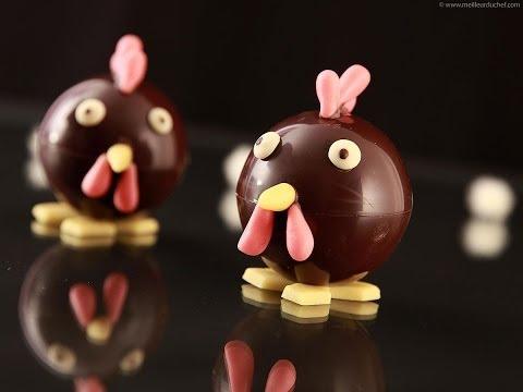 """""""Dame Poulette"""" de Pierre Mirgalet MOF chocolatier-confiseur"""
