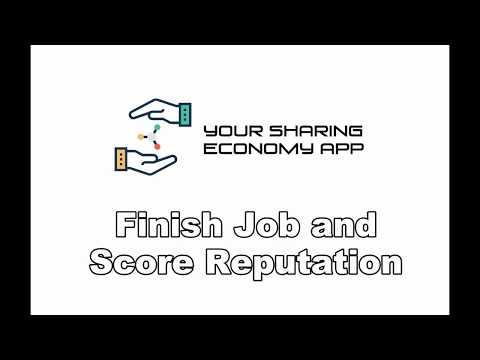 [You Sharing Economy App] Finished Job and Score Reputation