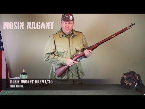 WWII Airsoft: Company HQ Mosin Nagant video