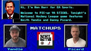 NHL 94: Keith Yandle vs Danny Picard