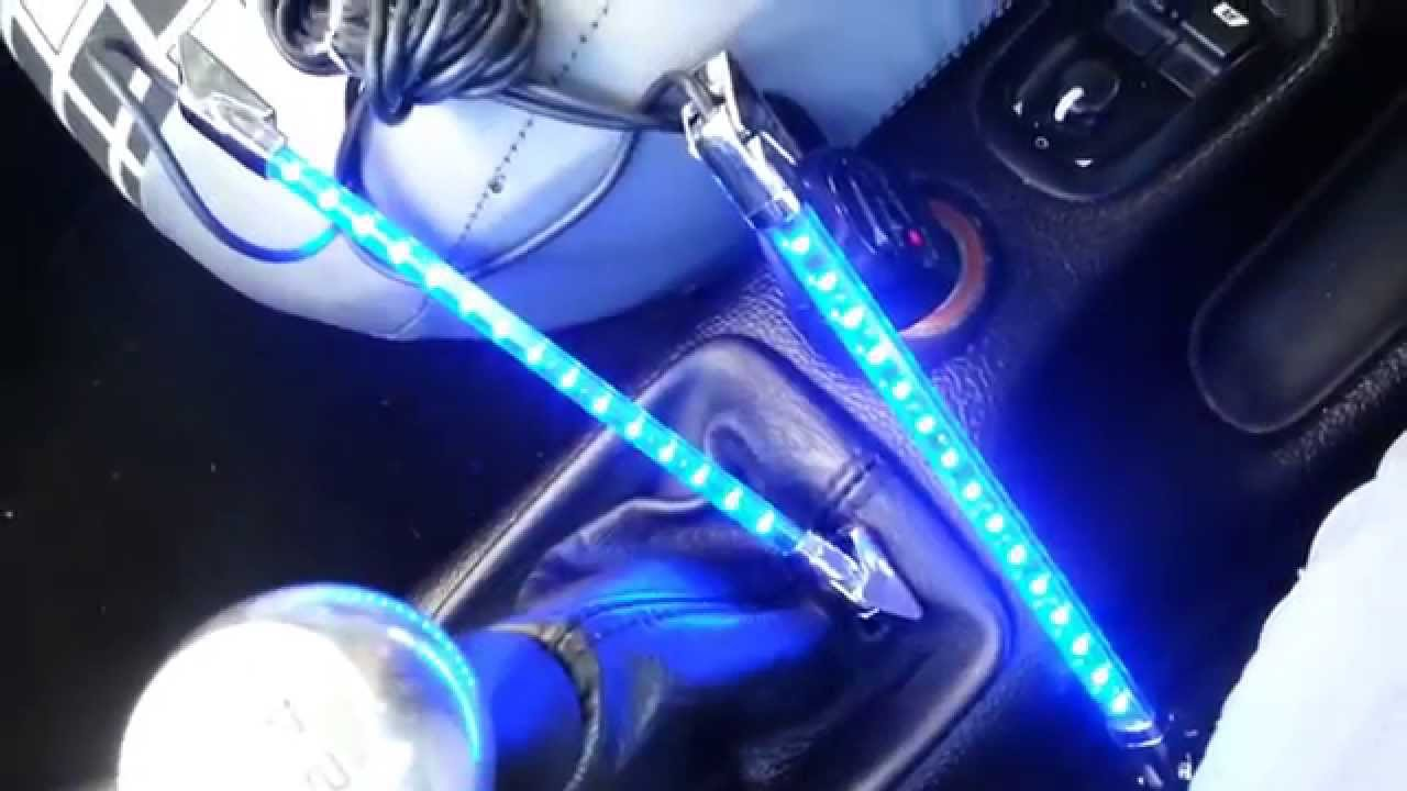 Auto led Beleuchtung mit Musiksensor Furaumbeleuchtung ...