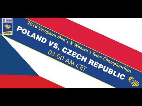 2018 EMTC Poland - Czech Republic (Court 1)