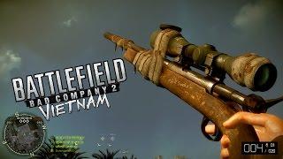 Bad Company 2: Vietnam › M40 Sniper Rifle Gameplay (PC ULTRA 1080p/60ᶠᵖˢ)