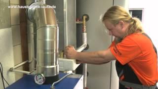 Haustechnik Lauta - Kombination von Festbrennstoffkessel mit vorhandener Heizung