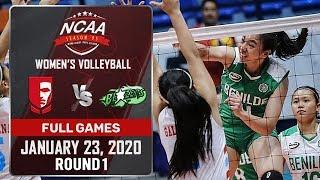 EAC vs. CSB - January 23, 2020   Full Game   3rd Set   NCAA 95 WV