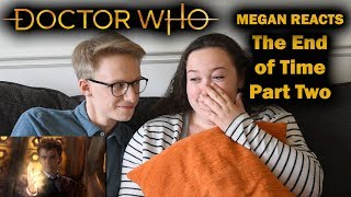 MEGAN REACTS (CRIES) - Doctor Who - The End of Time Part Two (Live Reaction) Video