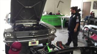 Going out again front end alignment Peter's 1966 Mustang Coupe - Day 90 Part 6