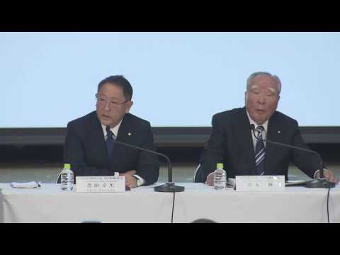 Toyota and Suzuki press conference